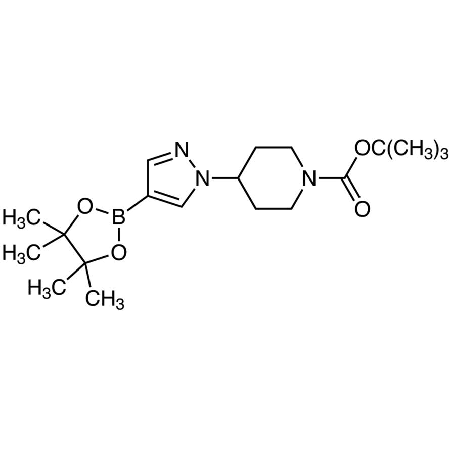 tert-Butyl 4-[4-(4,4,5,5-Tetramethyl-1,3,2-dioxaborolan-2-yl)pyrazol-1-yl]piperidine-1-carboxylate