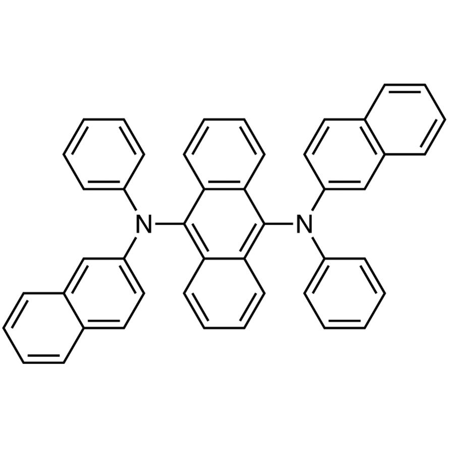 9,10-Bis[N-(2-naphthyl)anilino]anthracene