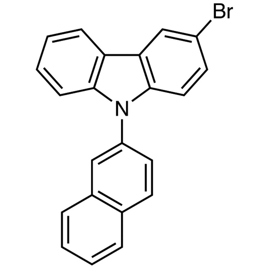 3-Bromo-9-(2-naphthyl)carbazole