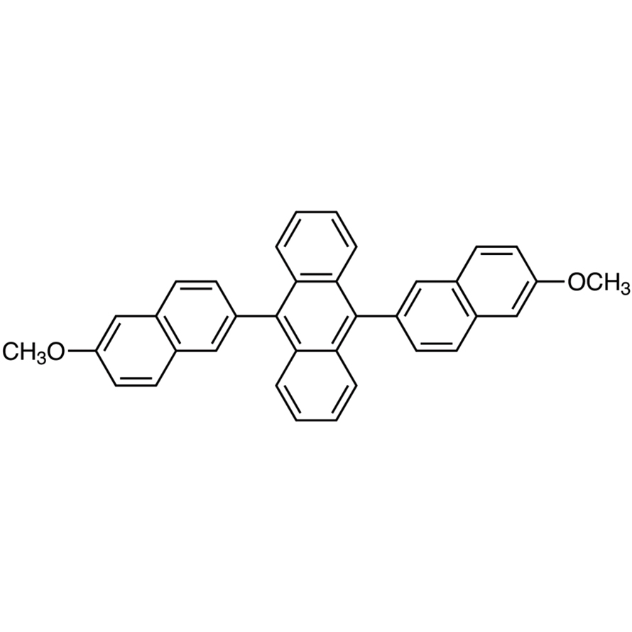 9,10-Bis(6-methoxy-2-naphthyl)anthracene