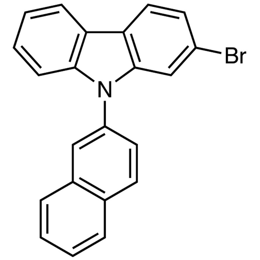 2-Bromo-9-(2-naphthyl)-9H-carbazole