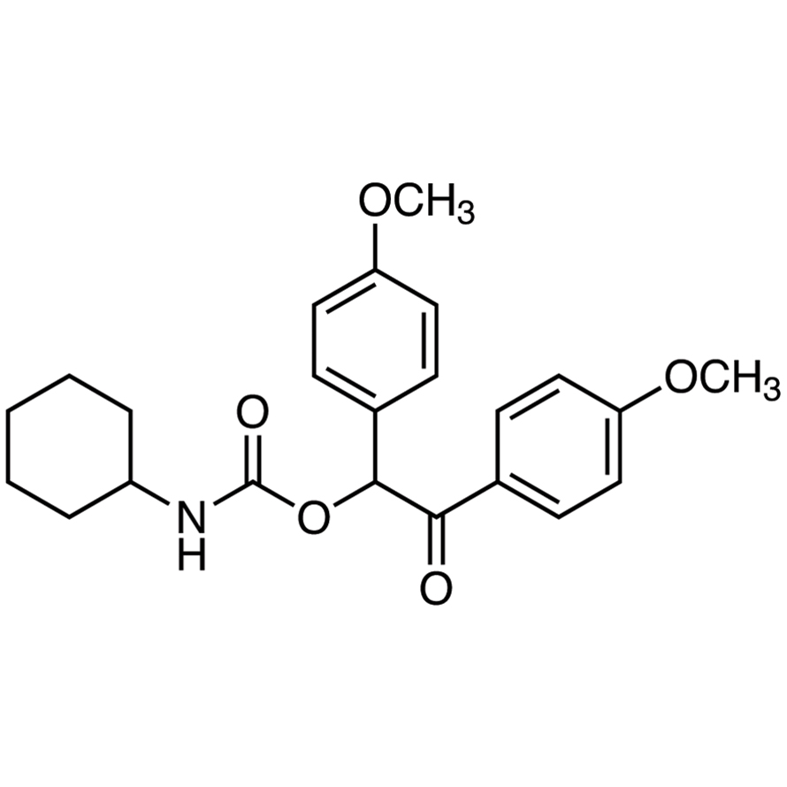 1,2-Bis(4-methoxyphenyl)-2-oxoethyl Cyclohexylcarbamate