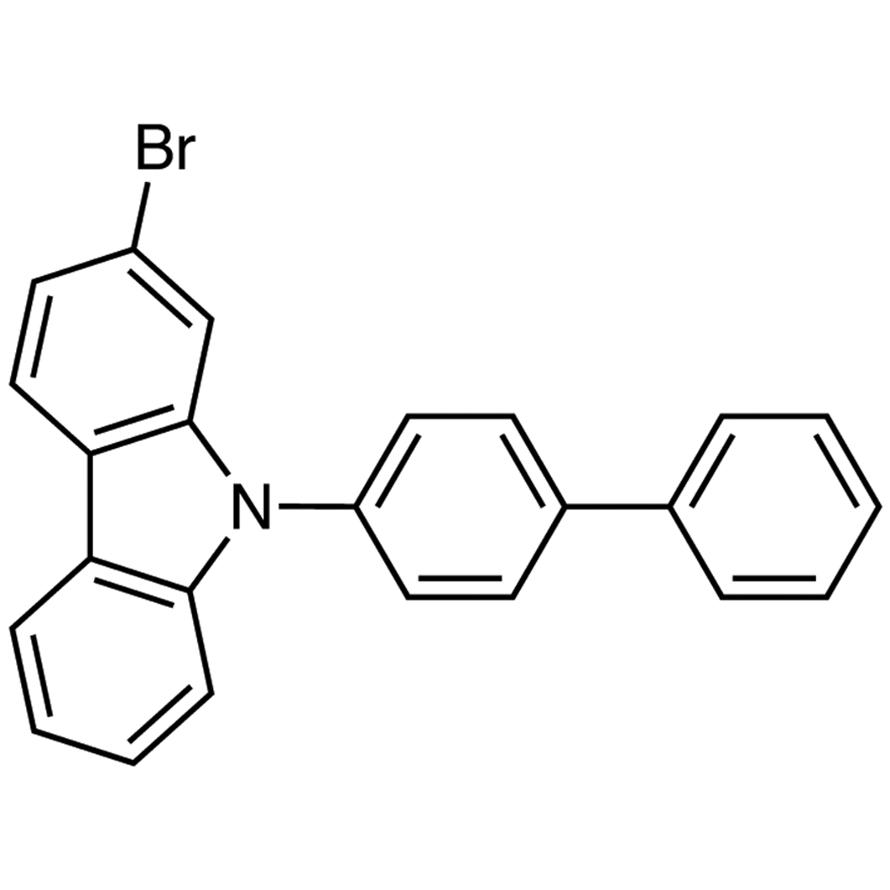 9-(4-Biphenylyl)-2-bromocarbazole