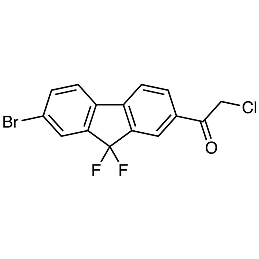 7-Bromo-2-(chloroacetyl)-9,9-difluorofluorene