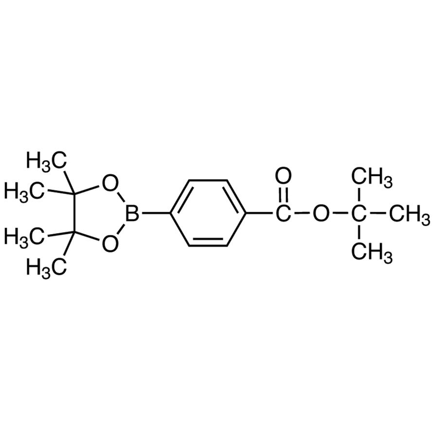 tert-Butyl 4-(4,4,5,5-Tetramethyl-1,3,2-dioxaborolan-2-yl)benzoate