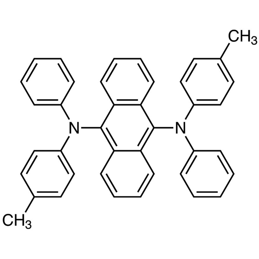 9,10-Bis[N-(p-tolyl)anilino]anthracene