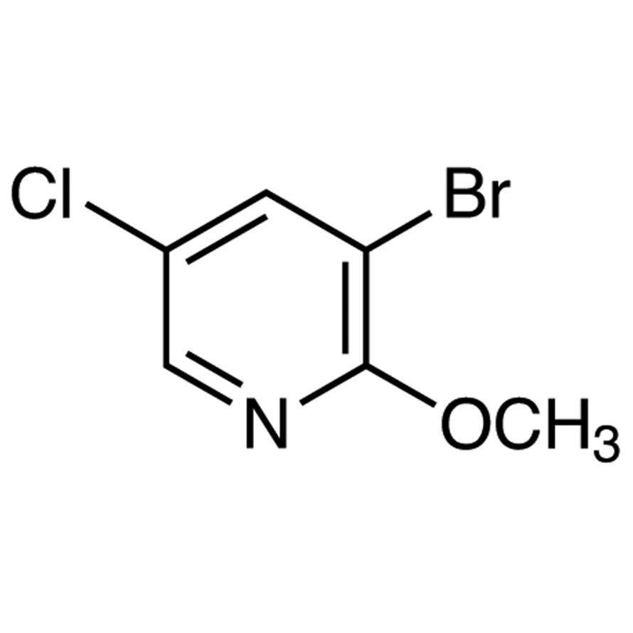 3-Bromo-5-chloro-2-methoxypyridine