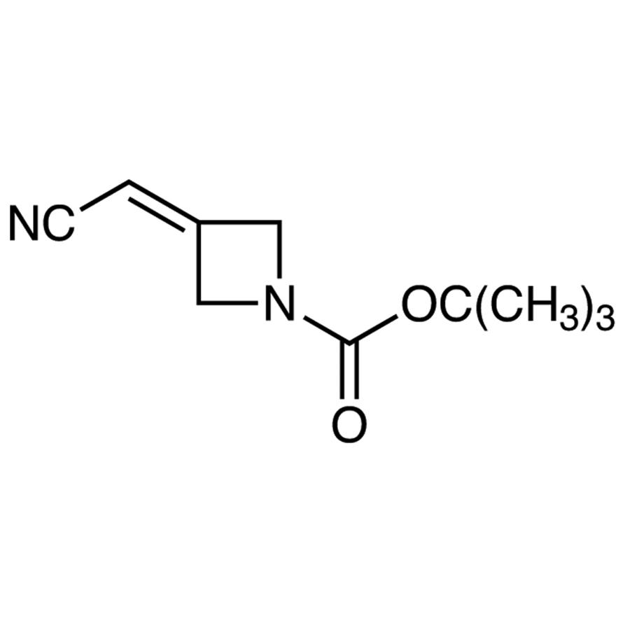 1-(tert-Butoxycarbonyl)-3-(cyanomethylene)azetidine
