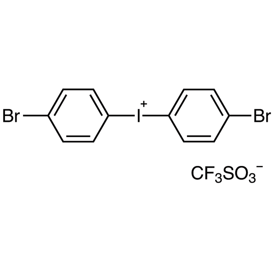 Bis(4-bromophenyl)iodonium Trifluoromethanesulfonate