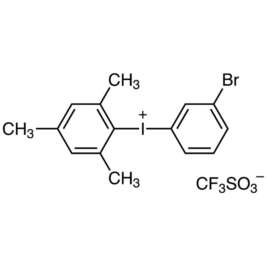 (3-Bromophenyl)(mesityl)iodonium Trifluoromethanesulfonate