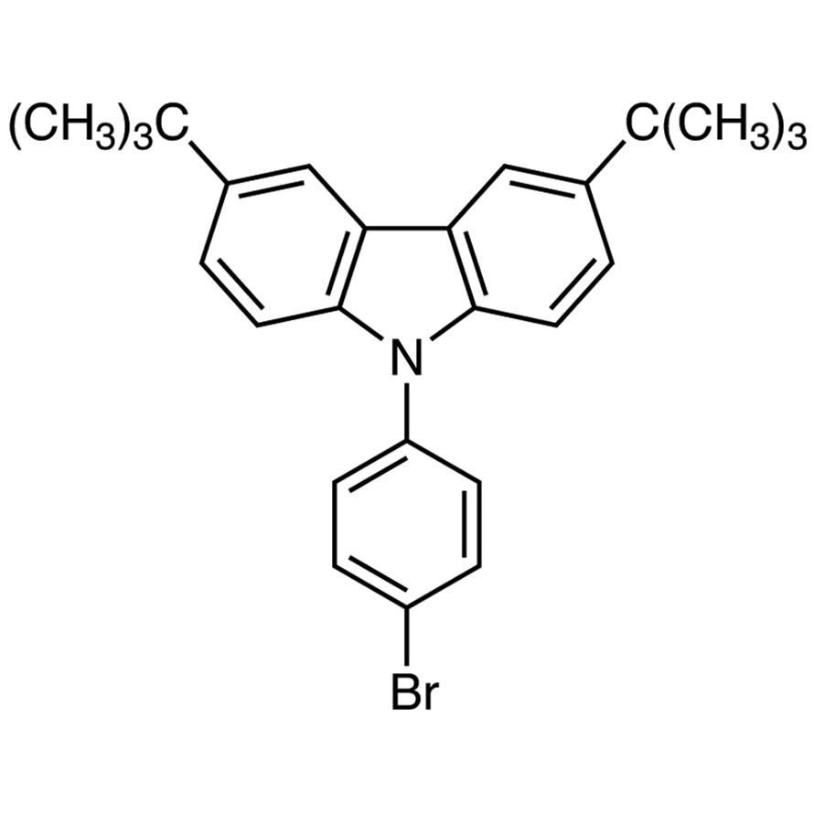 9-(4-Bromophenyl)-3,6-di-tert-butylcarbazole