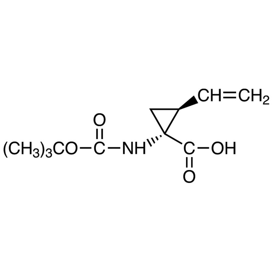 (1R,2S)-1-[(tert-Butoxycarbonyl)amino]-2-vinylcyclopropanecarboxylic Acid