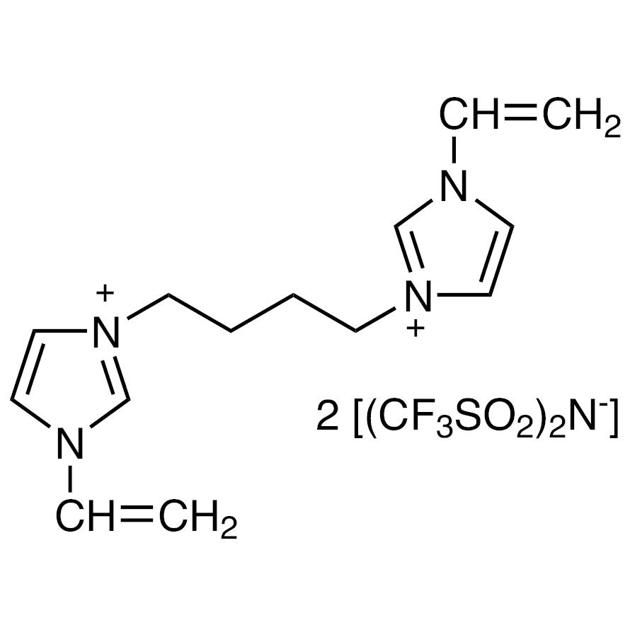 3,3'-(Butane-1,4-diyl)bis(1-vinyl-3-imidazolium) Bis(trifluoromethanesulfonyl)imide