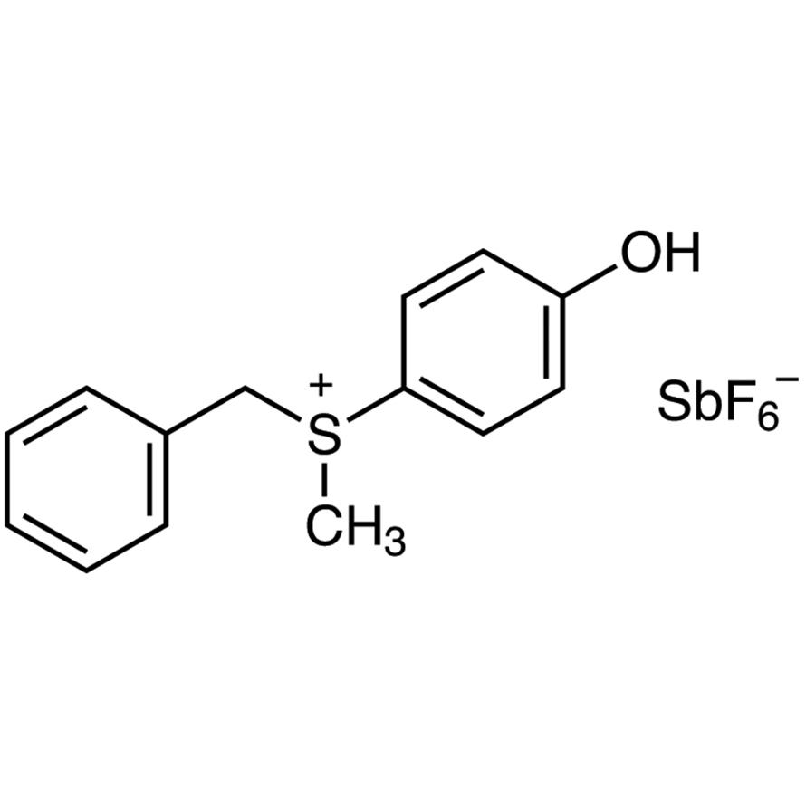 Benzyl(4-hydroxyphenyl)methylsulfonium Hexafluoroantimonate