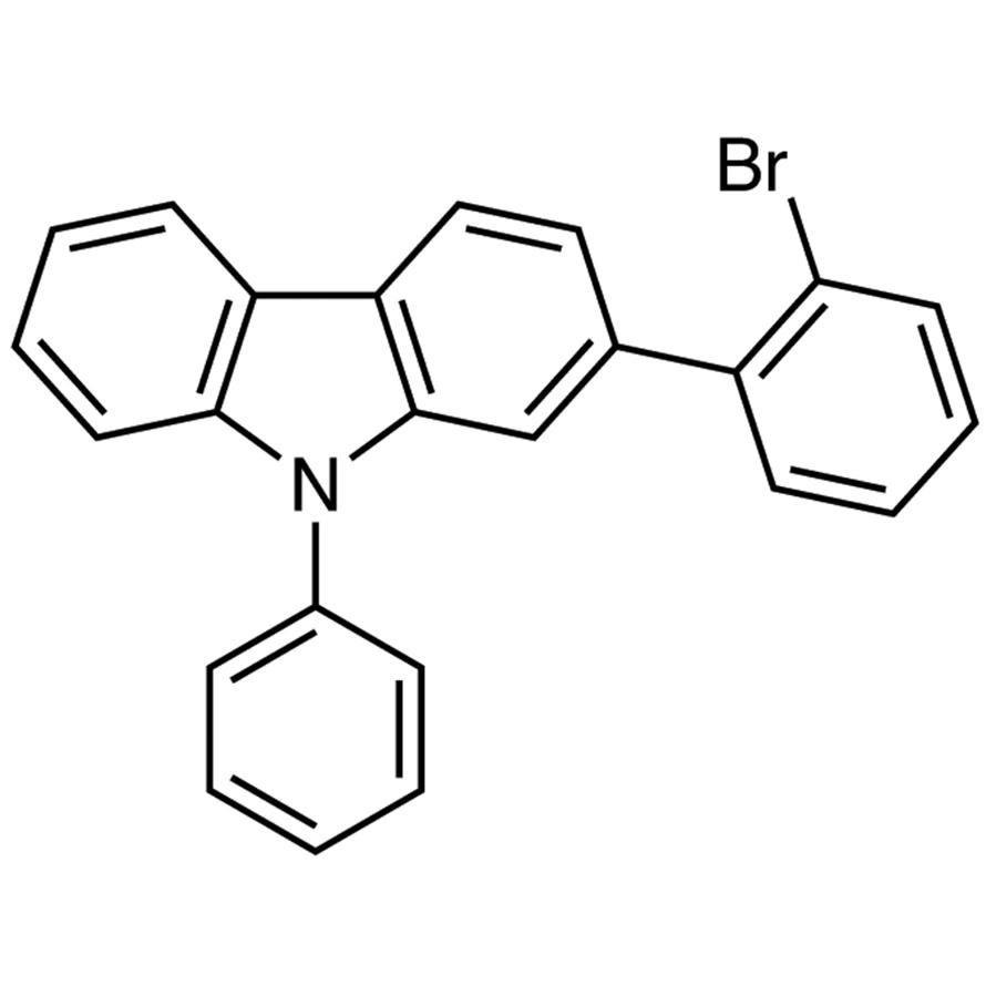 2-(2-Bromophenyl)-9-phenyl-9H-carbazole