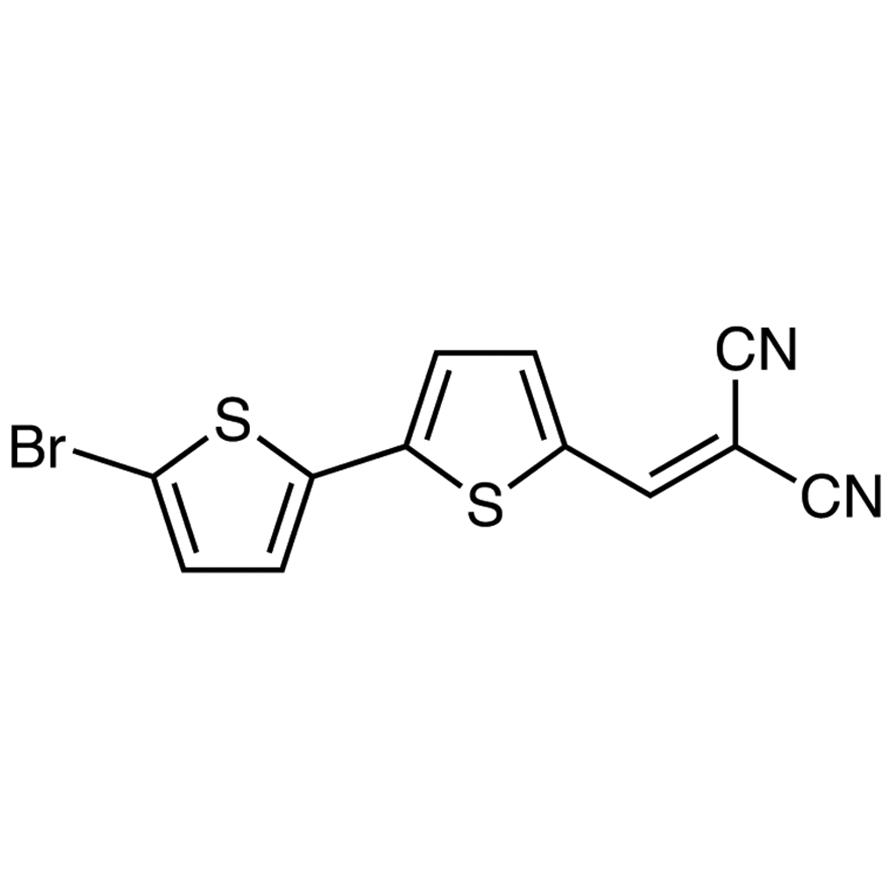 2-[(5'-Bromo-[2,2'-bithiophen]-5-yl)methylene]malononitrile