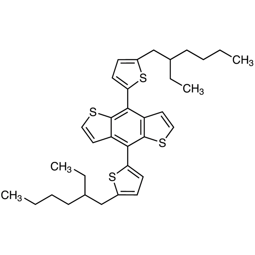 4,8-Bis[5-(2-ethylhexyl)thiophen-2-yl]benzo[1,2-b:4,5-b']dithiophene