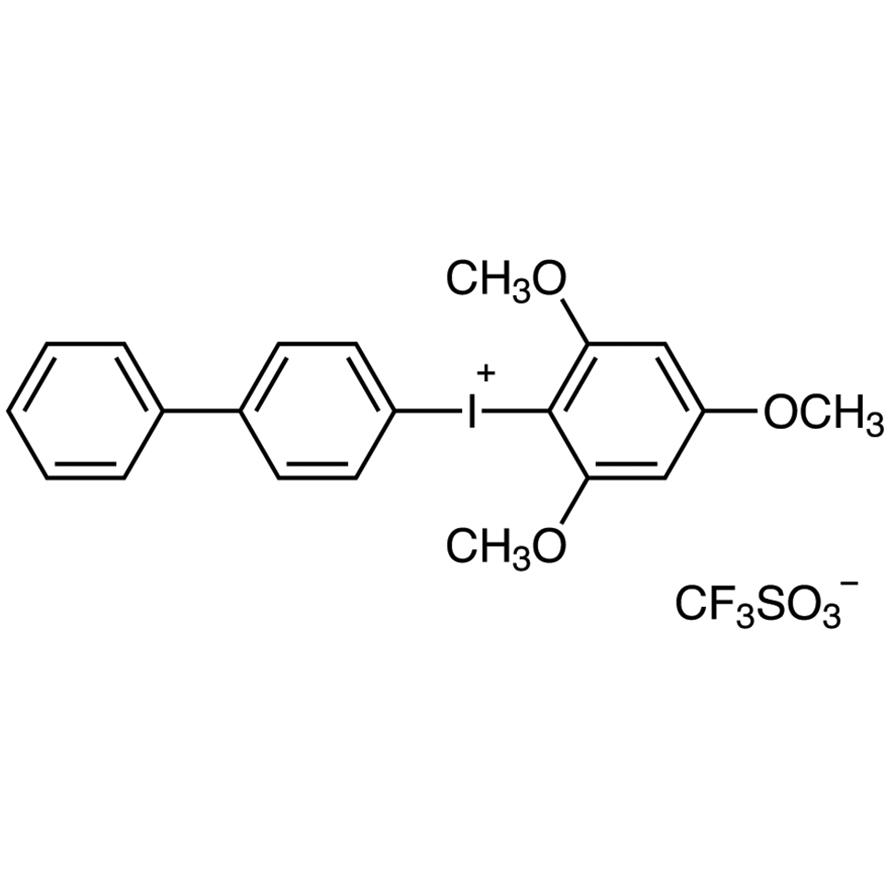 4-Biphenylyl(2,4,6-trimethoxyphenyl)iodonium Trifluoromethanesulfonate