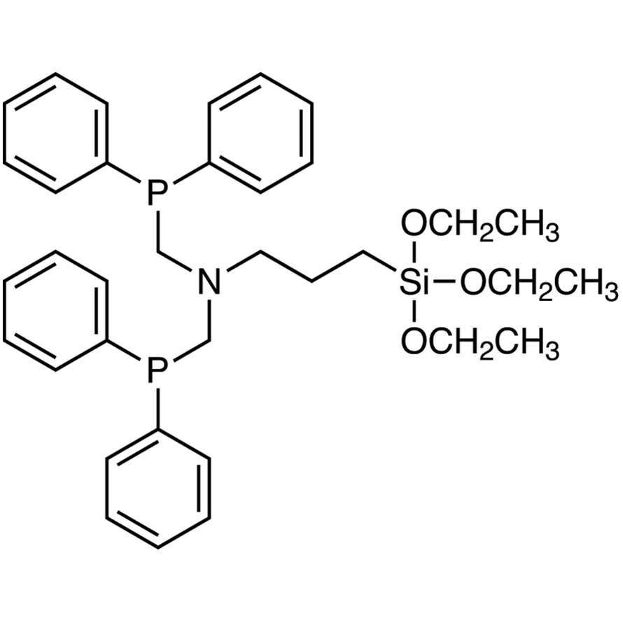 N,N-Bis[(diphenylphosphino)methyl]-3-(triethoxysilyl)propylamine