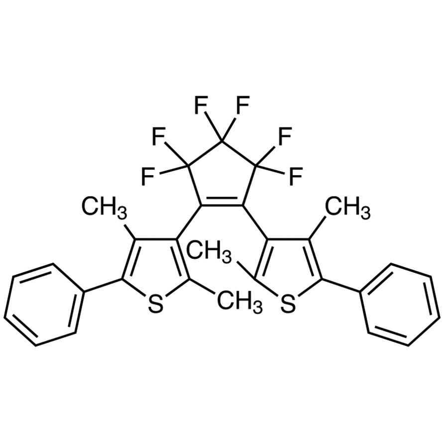 1,2-Bis(2,4-dimethyl-5-phenyl-3-thienyl)-3,3,4,4,5,5-hexafluoro-1-cyclopentene (purified by sublimation)