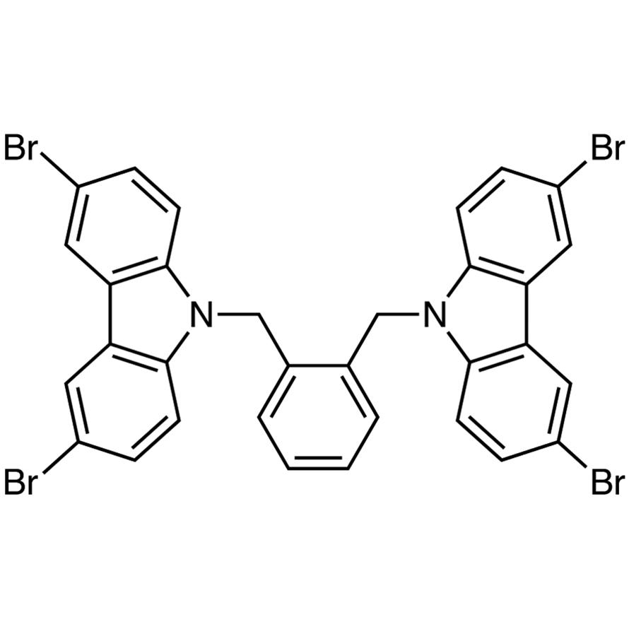 1,2-Bis[(3,6-dibromo-9H-carbazol-9-yl)methyl]benzene