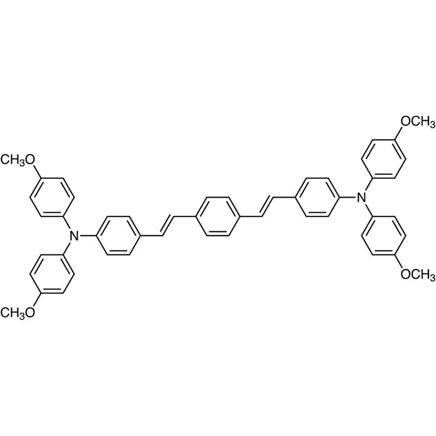 (E,E)-1,4-Bis[4-[bis(4-methoxyphenyl)amino]styryl]benzene