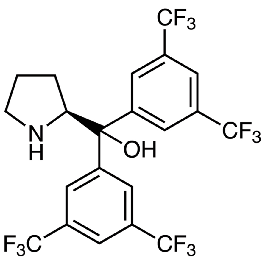 (S)-,-Bis[3,5-bis(trifluoromethyl)phenyl]-2-pyrrolidinemethanol