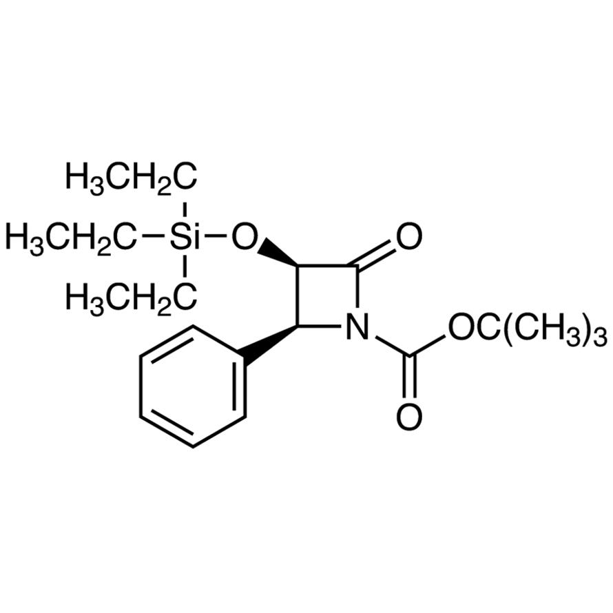 tert-Butyl (3R,4S)-2-Oxo-4-phenyl-3-[(triethylsilyl)oxy]azetidine-1-carboxylate