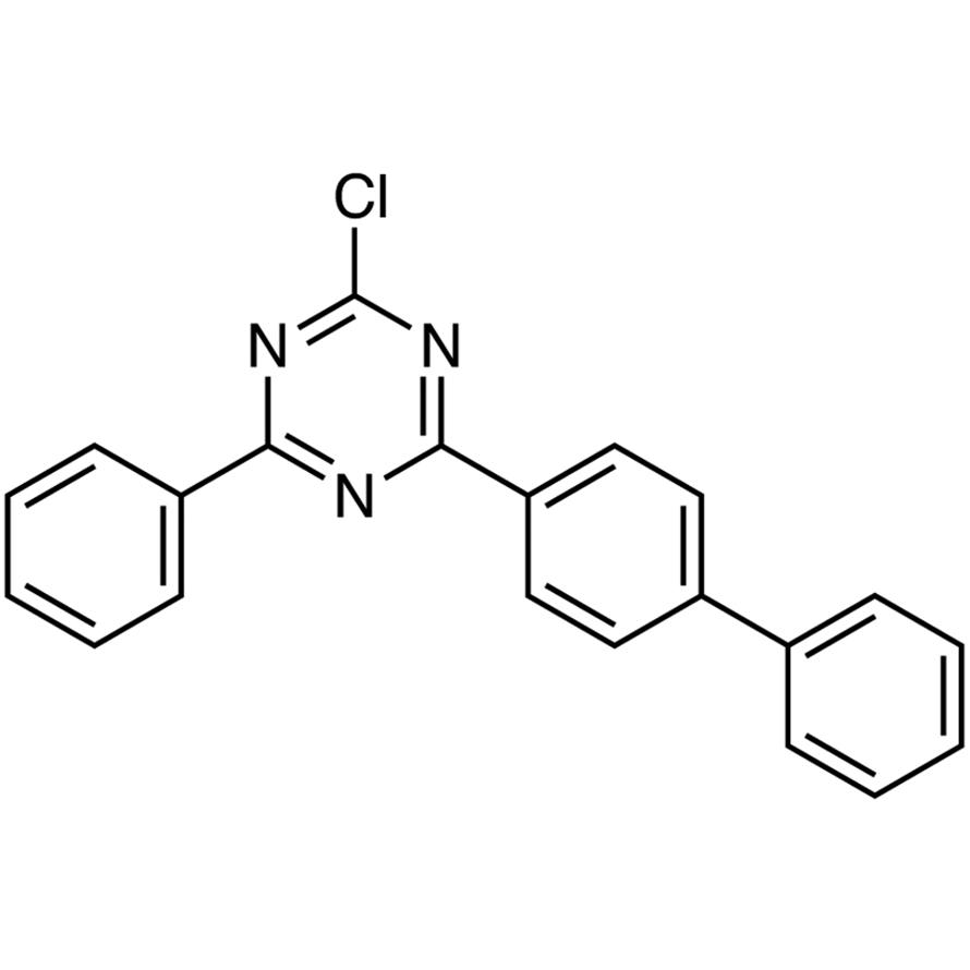 2-([1,1'-Biphenyl]-4-yl)-4-chloro-6-phenyl-1,3,5-triazine
