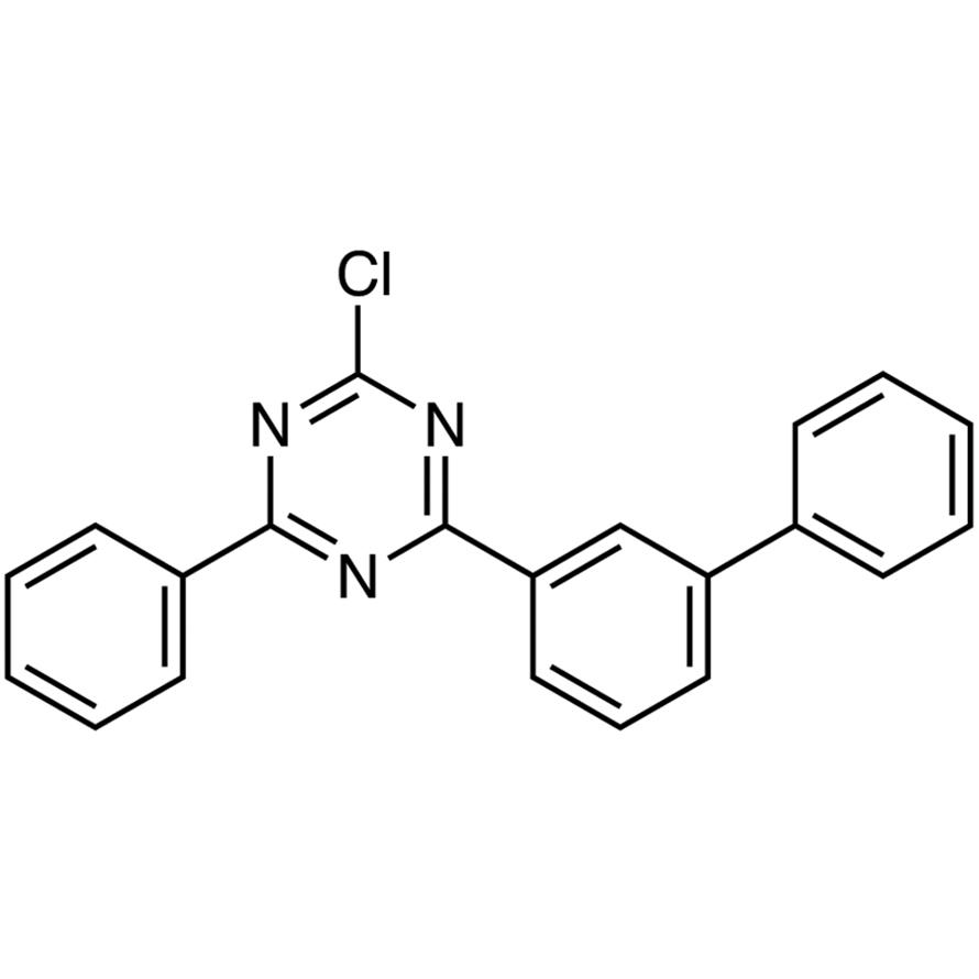 2-([1,1'-Biphenyl]-3-yl)-4-chloro-6-phenyl-1,3,5-triazine