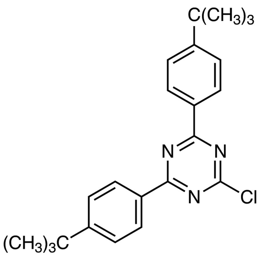 2,4-Bis[4-(tert-butyl)phenyl]-6-chloro-1,3,5-triazine