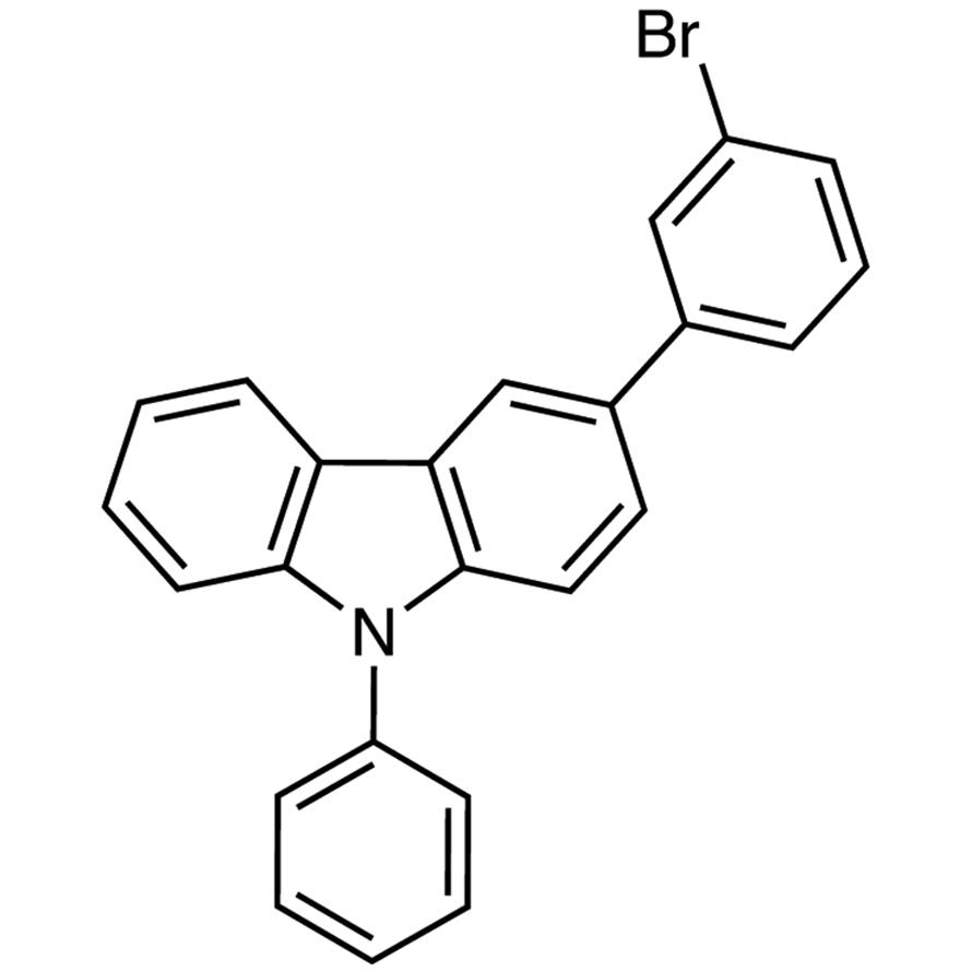 3-(3-Bromophenyl)-9-phenyl-9H-carbazole