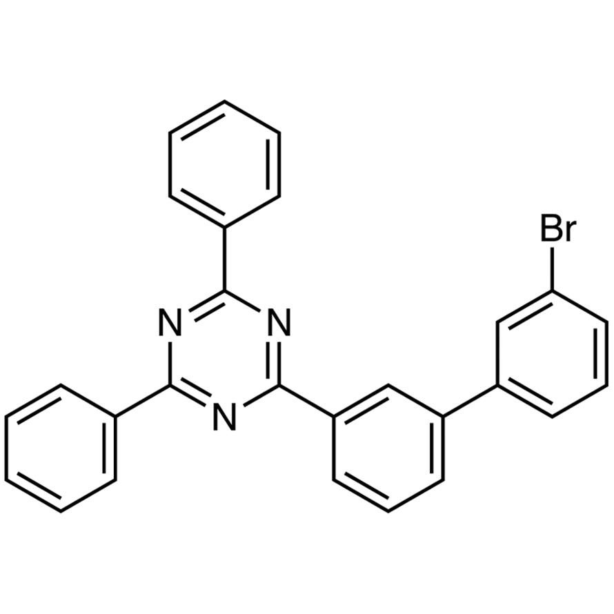 2-[3'-Bromo[1,1'-biphenyl]-3-yl]-4,6-diphenyl-1,3,5-triazine
