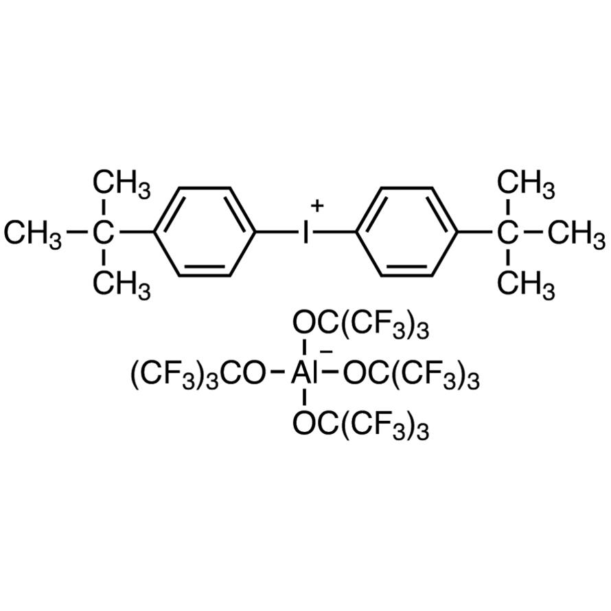 Bis[4-(tert-butyl)phenyl]iodonium Tetra(nonafluoro-tert-butoxy)aluminate