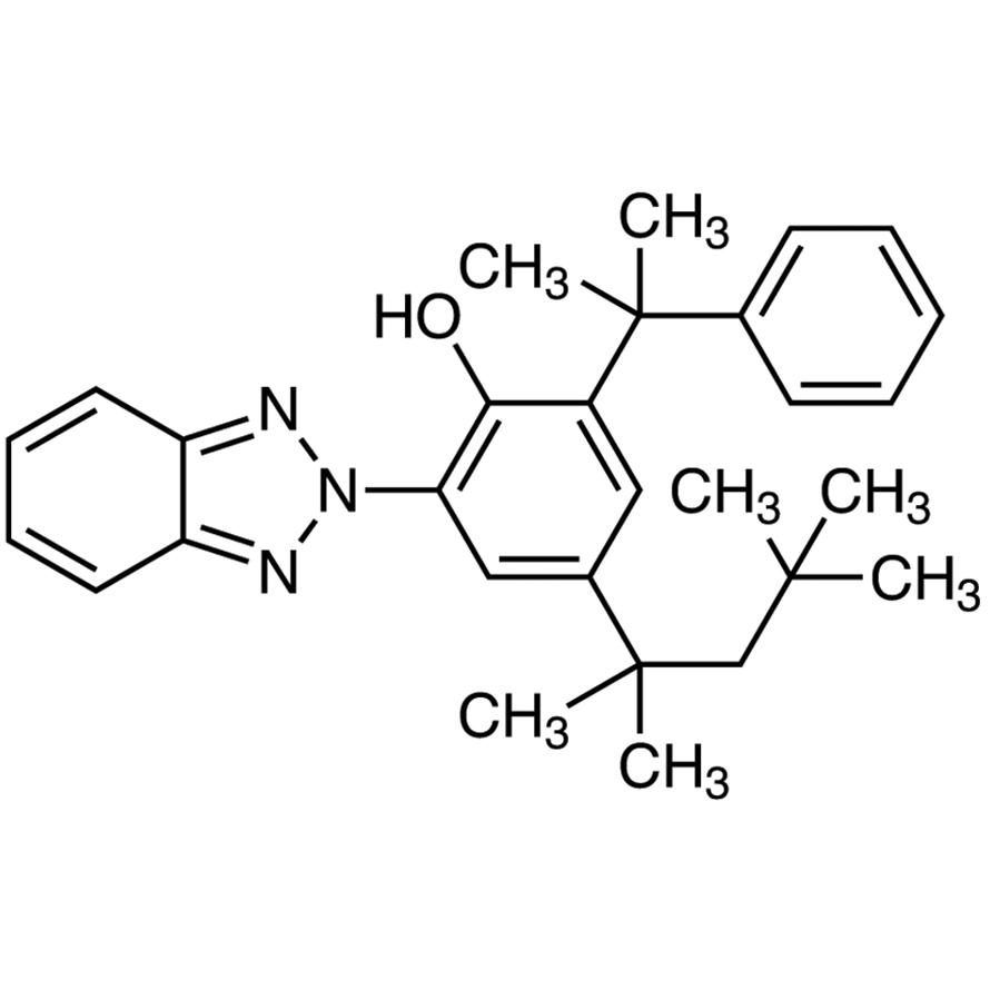 2-(2H-Benzo[d][1,2,3]triazol-2-yl)-6-(2-phenylpropan-2-yl)-4-(2,4,4-trimethylpentan-2-yl)phenol