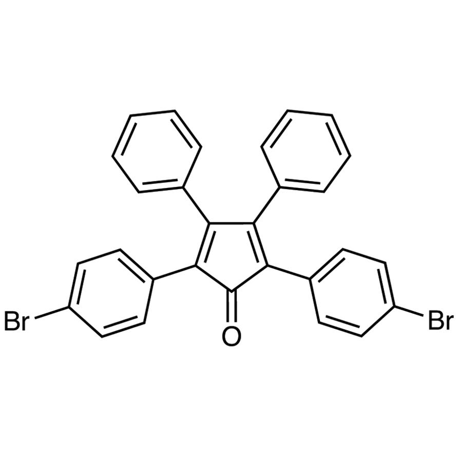 2,5-Bis(4-bromophenyl)-3,4-diphenylcyclopenta-2,4-dienone