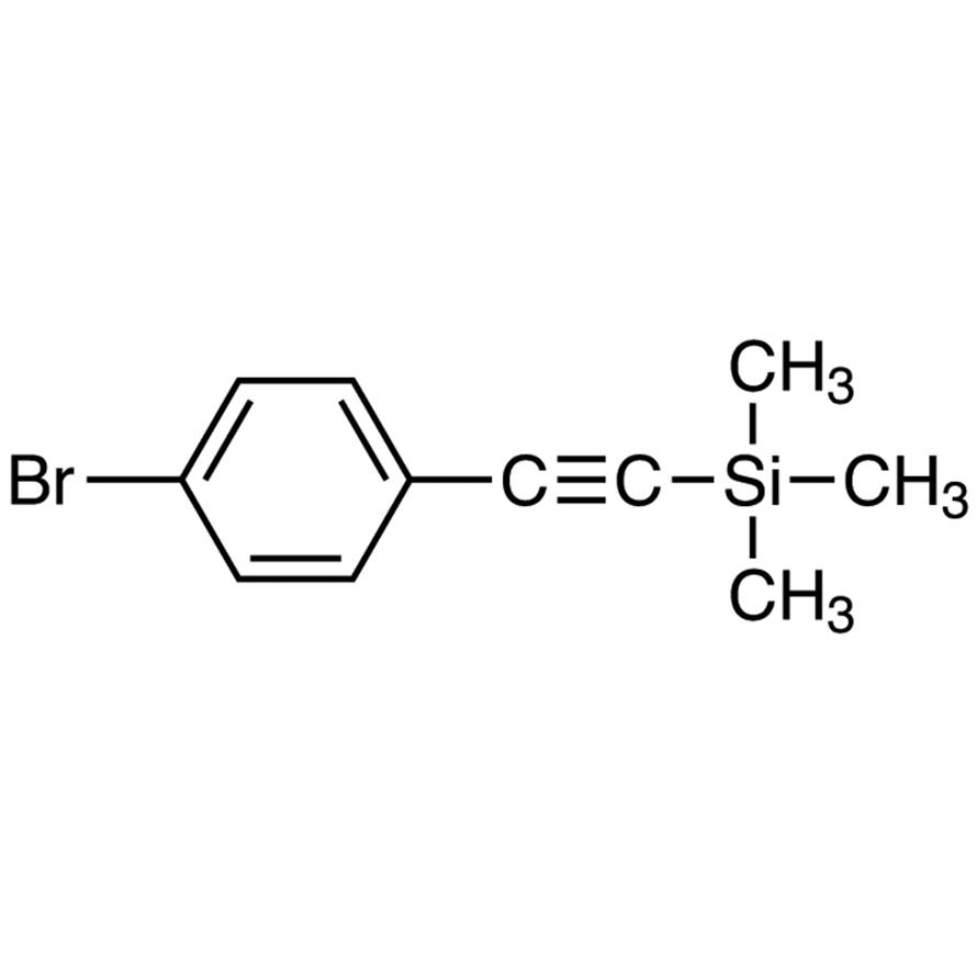 (4-Bromophenylethynyl)trimethylsilane