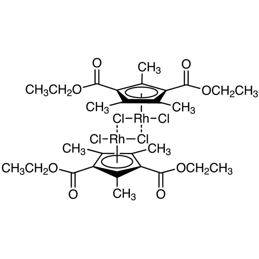 [1,3-Bis(ethoxycarbonyl)-2,4,5-trimethylcyclopentadien-1-yl]rhodium(III) Dichloride Dimer
