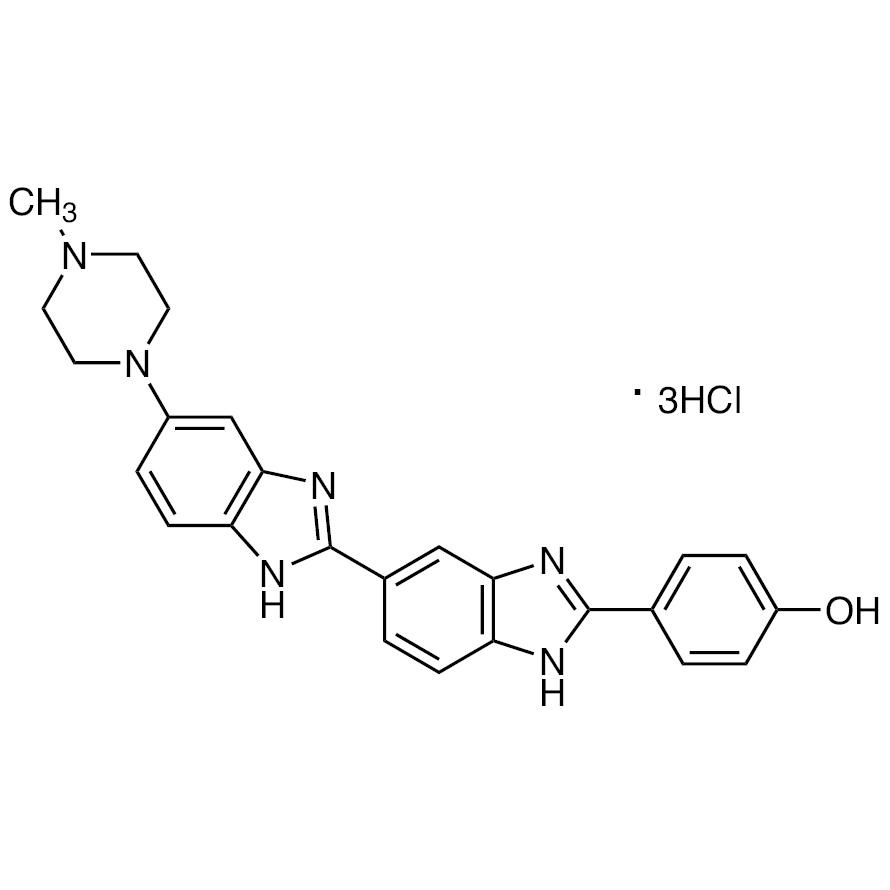 Bisbenzimide H 33258 (1mg/mL in Water) (0.2mL5) [for Cell Staining]