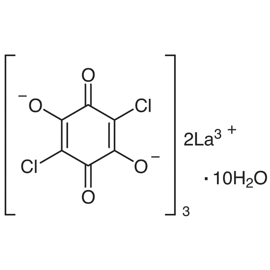Chloranilic Acid Lanthanum(III) Salt Decahydrate