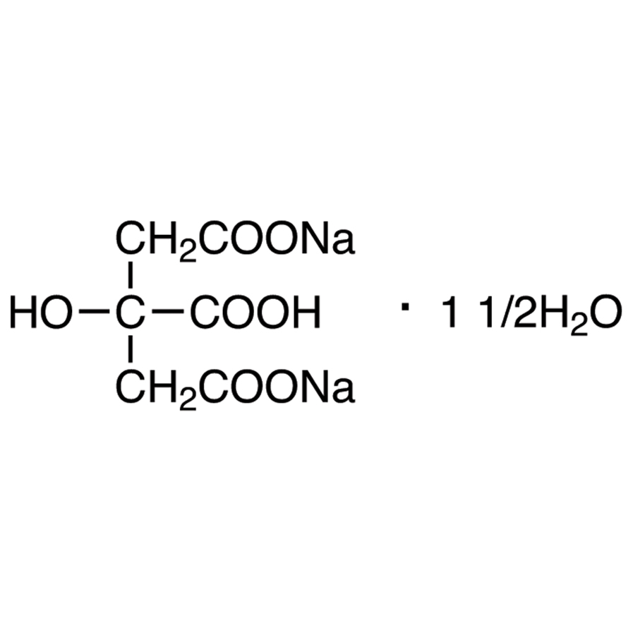 Disodium Citrate Sesquihydrate