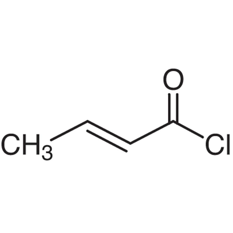 Crotonoyl Chloride (cis- and trans- mixture)