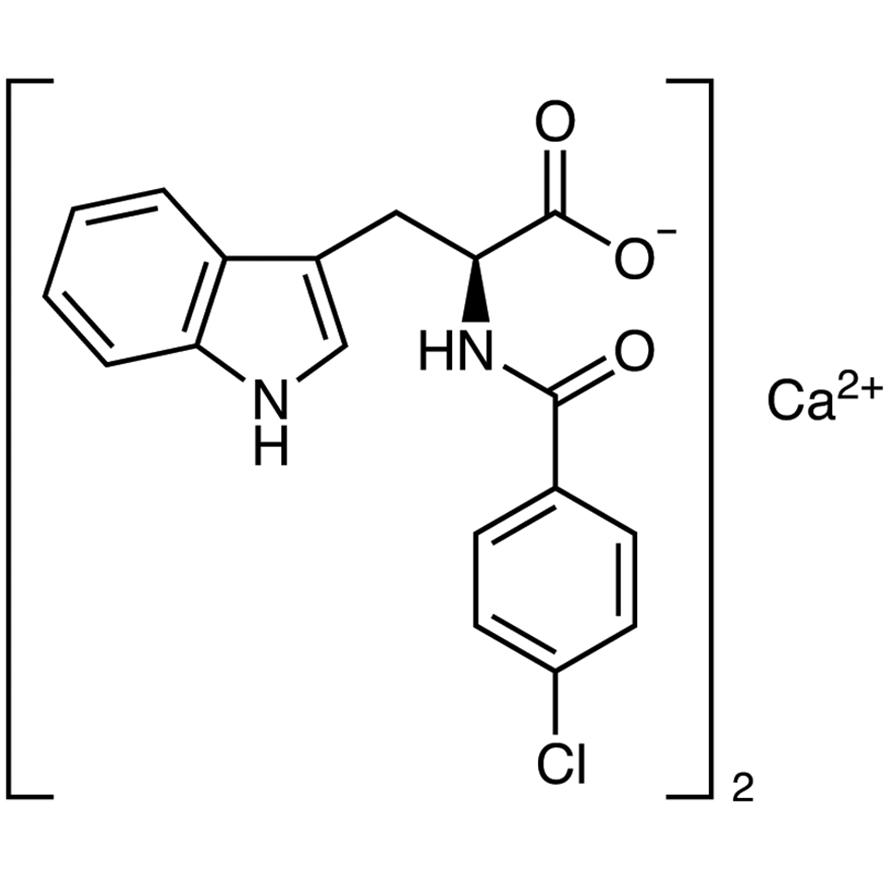 4-Chlorobenzoyl-L-tryptophan Calcium Salt