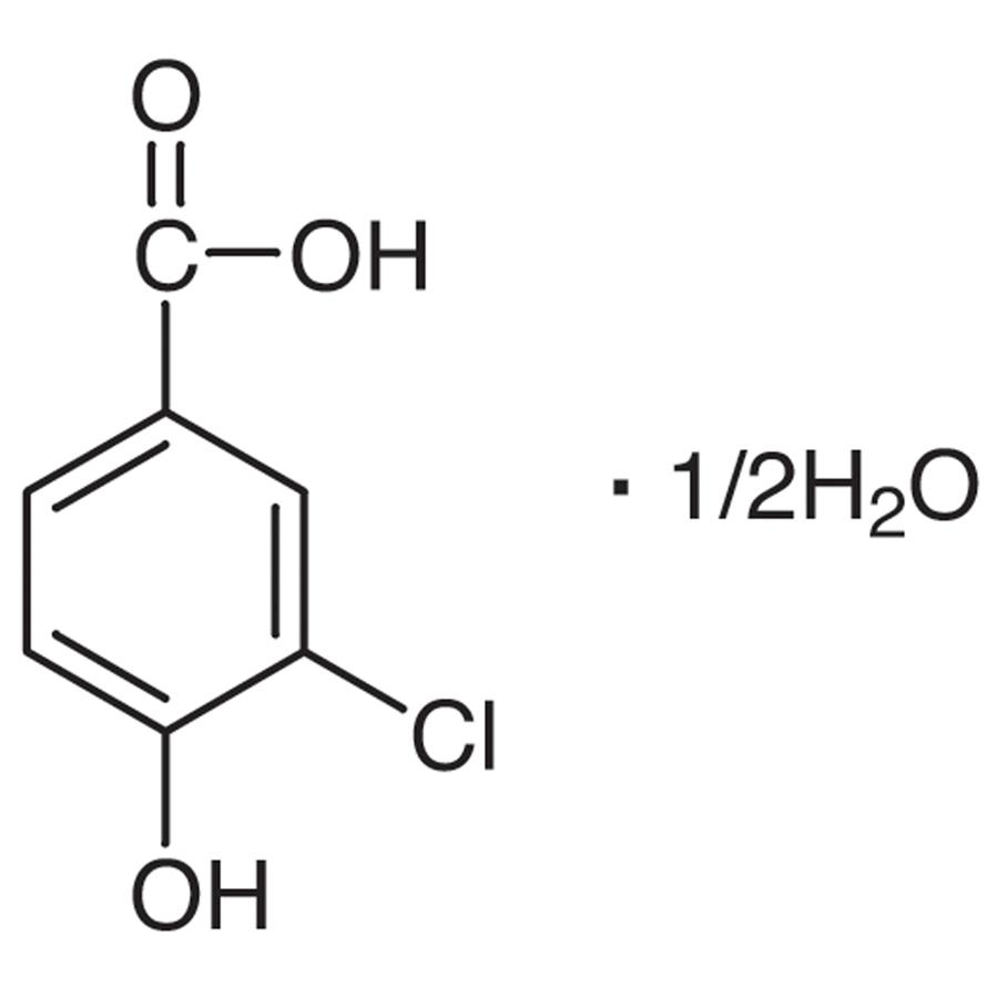 3-Chloro-4-hydroxybenzoic Acid Hemihydrate