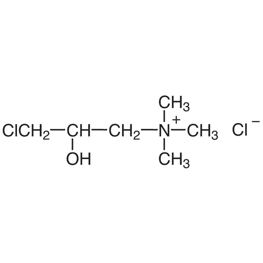 (3-Chloro-2-hydroxypropyl)trimethylammonium Chloride (ca. 65% in Water)