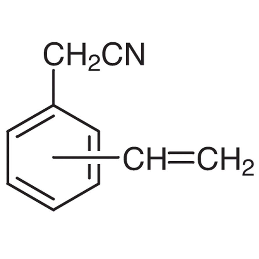 Vinylbenzyl Cyanide (m- and p- mixture) (stabilized with TBC)