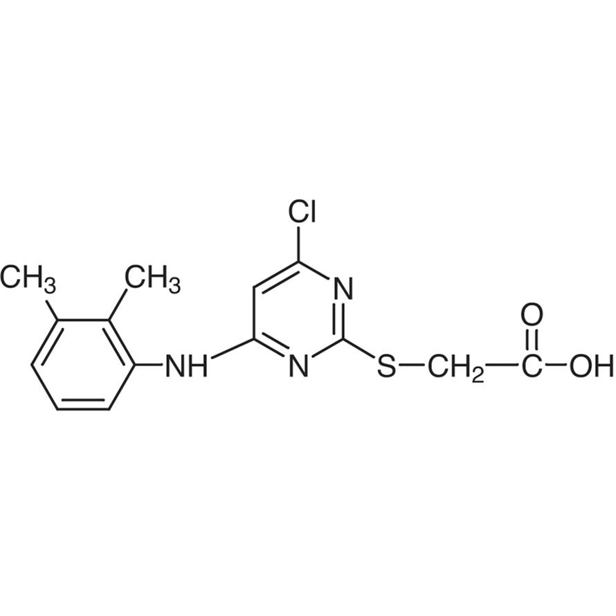 [4-Chloro-6-(2,3-xylidino)-2-pyrimidinylthio]acetic Acid