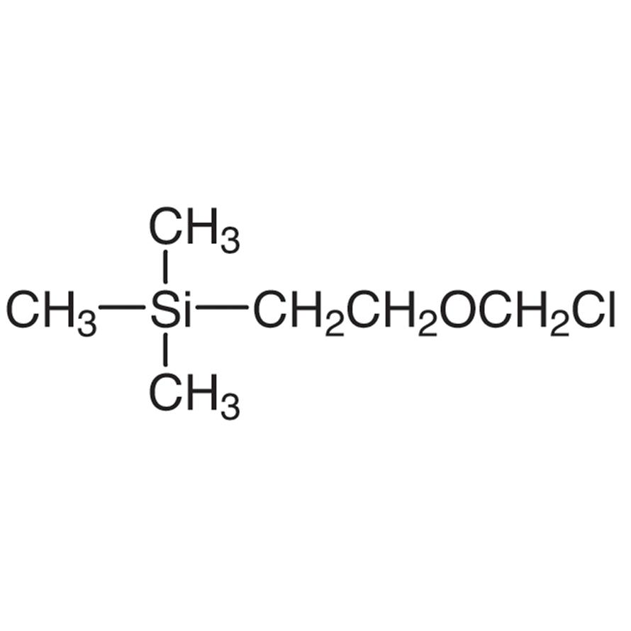 2-(Chloromethoxy)ethyltrimethylsilane (stabilized with Diisopropylethylamine)