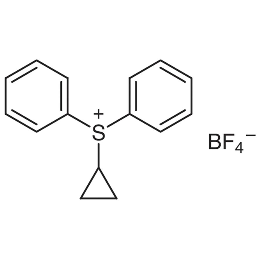 Cyclopropyldiphenylsulfonium Tetrafluoroborate