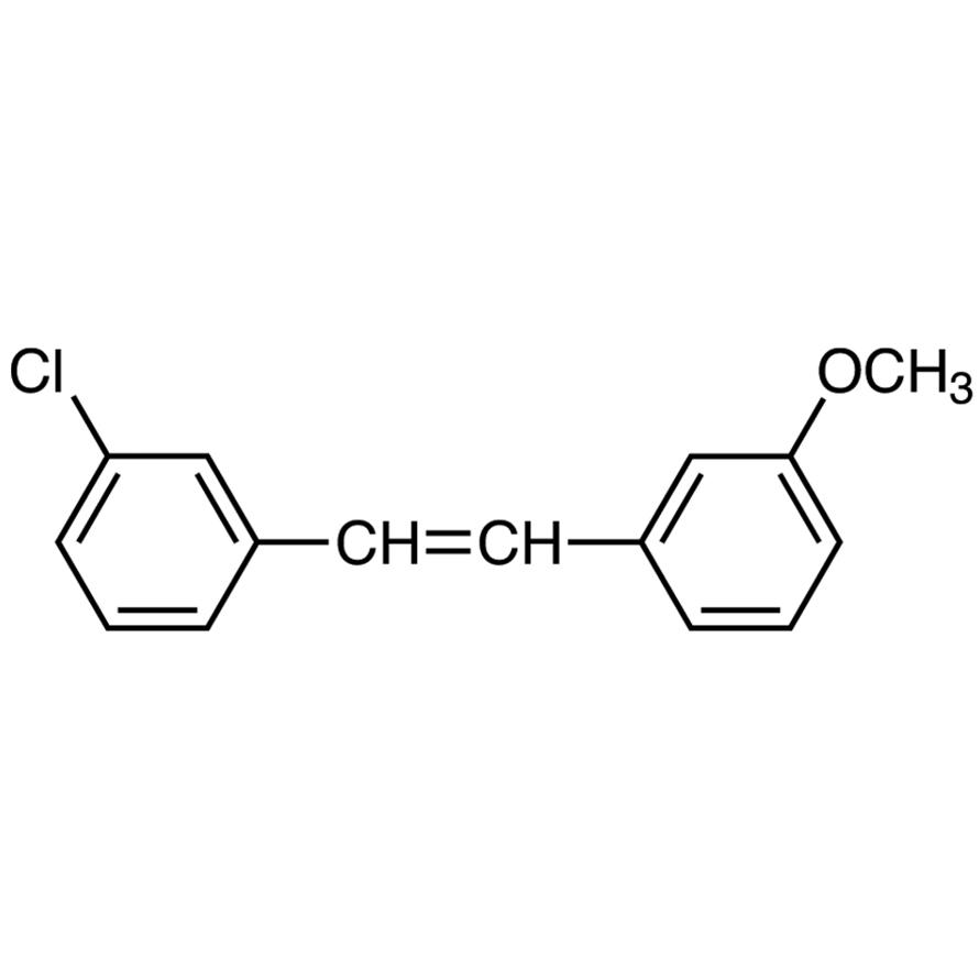 3-Chloro-3'-methoxystilbene